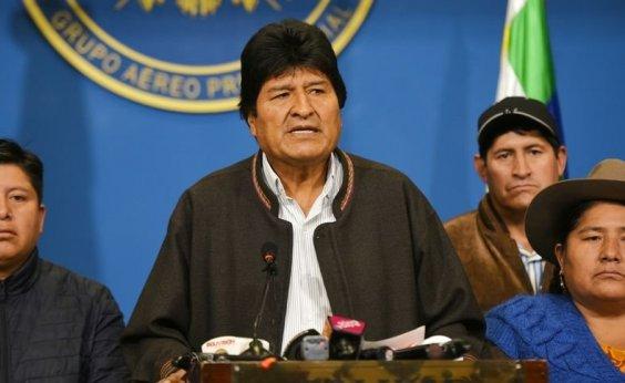 [México concede asilo político a Evo Morales]