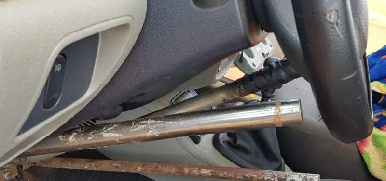 [Cadeirante é flagrado dirigindo carro 'adaptado' por ele mesmo no oeste da Bahia]