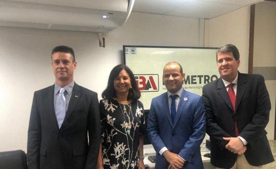 [Ibametro renova convênio com Inmetro e Governo da Bahia]