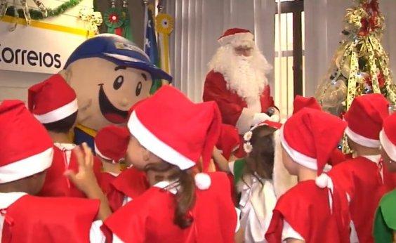 [Adoções online do Papai Noel dos Correios estão disponíveis]