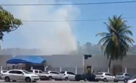 [Incêndio atinge vegetação no Santo Antônio Além do Carmo]