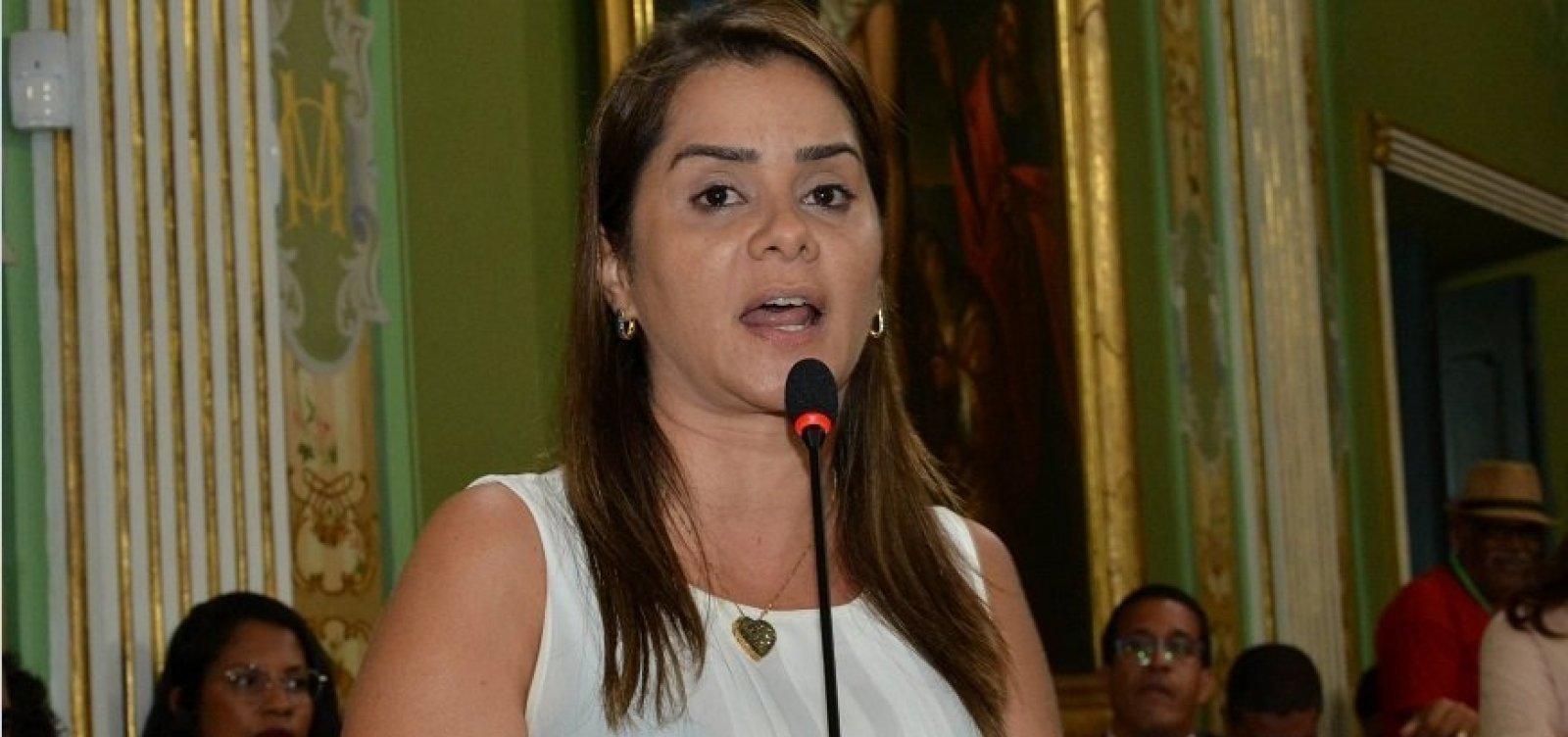 ['Criaram um fato monstruoso', diz Lorena Brandão após vazamento de áudio sobre a Lei dos Aplicativos]