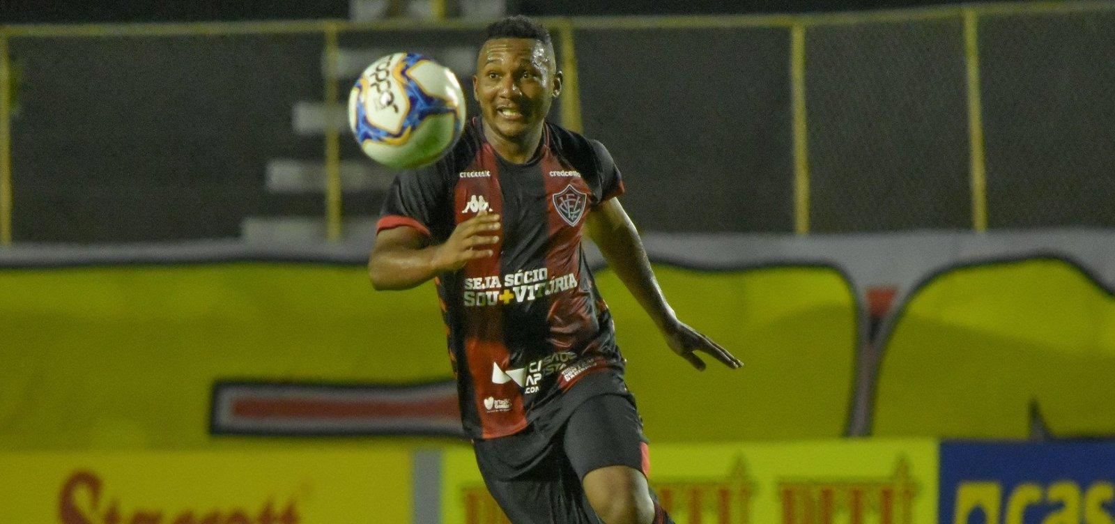 [Vitória arranca empate em 2 a 2 com o CRB no Barradão]