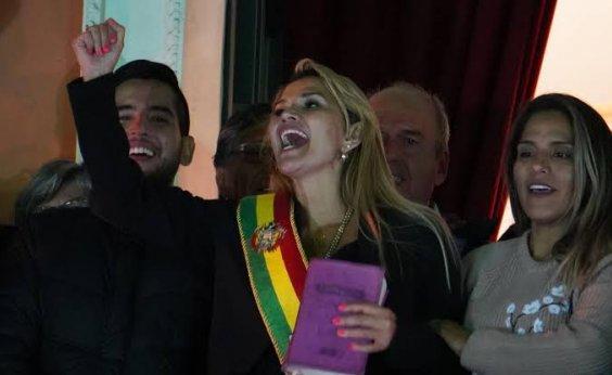 [Senadora da oposição declara-se presidente da Bolívia]