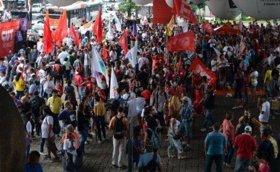 [Centrais sindicais organizam protestos contra 'pacote de maldades']