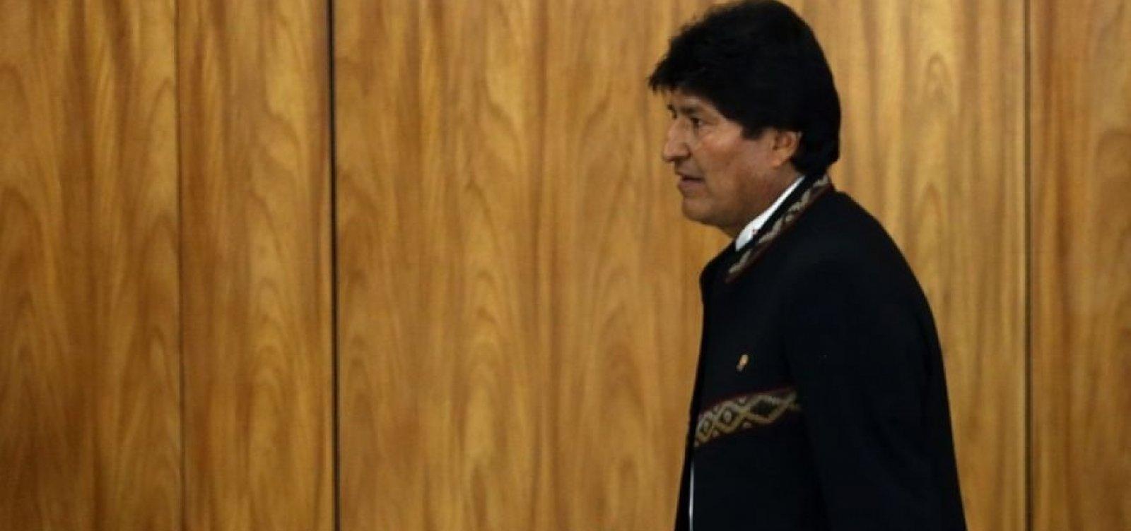[Secretário-geral da OEA diz que Evo Morales deu um autogolpe]
