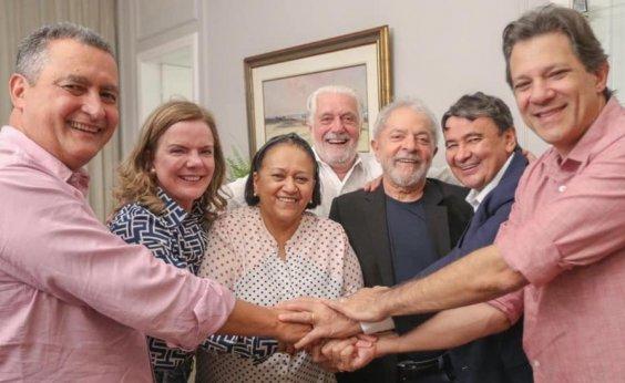 ['Debatendo os desafios para a região', diz Lula após encontro com governadores do NE em Salvador]