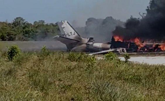 [Acidente em Maraú: tripulantes de aeronave sobreviveram, diz prefeitura; veja novo vídeo]