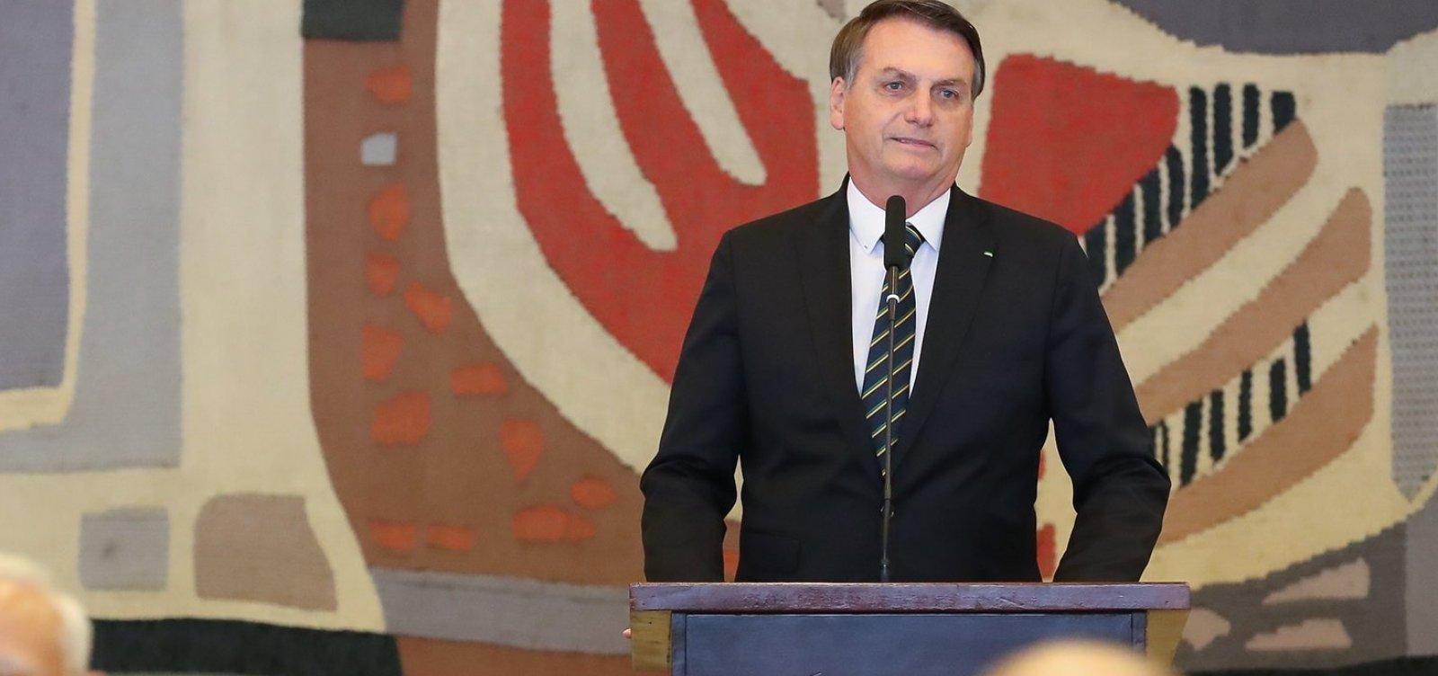 [Saída do PSL é uma 'separação amigável', diz Bolsonaro]