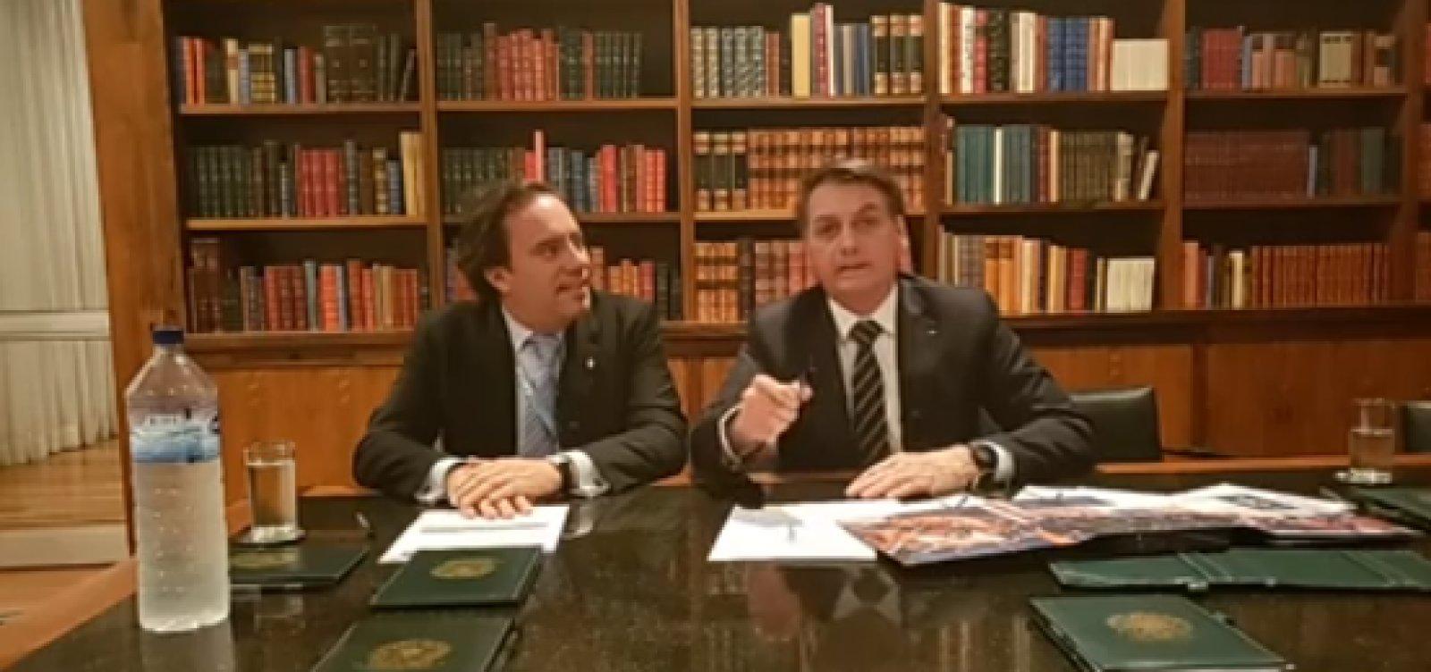 [Bolsonaro comenta realização do Enem sem menção à ditadura: 'nunca houve']