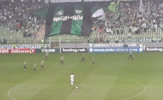 [Vitória perde para o América-MG por 2 a 1 fora de casa]