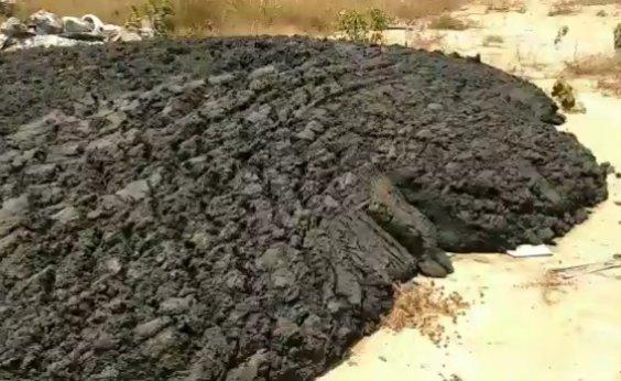 [Feira de Santana: prefeitura investiga origem de resíduo despejado em distrito de Maria Quitéria]