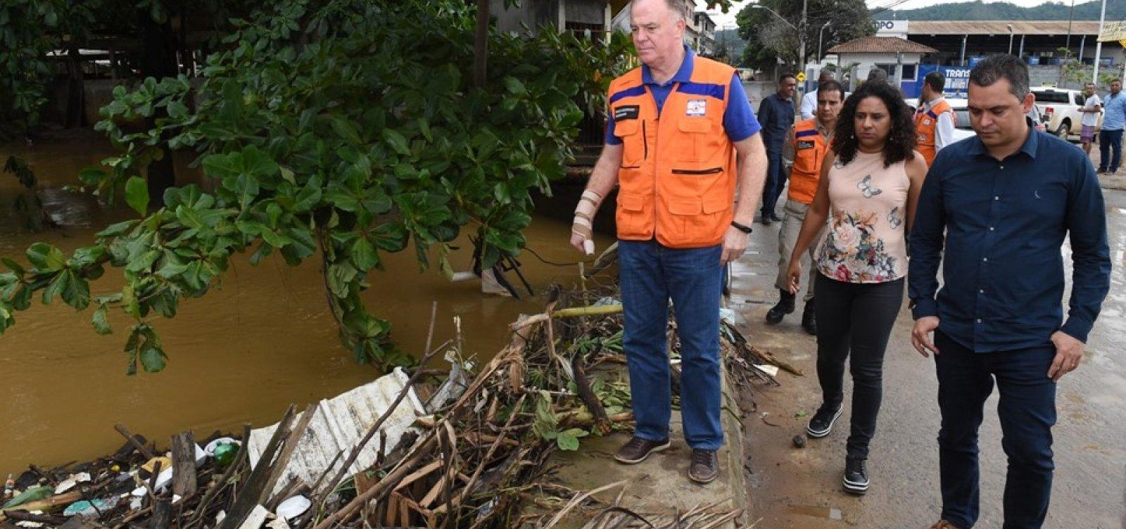 [Chuvas deixam 664 pessoas fora de casa no Espírito Santo]