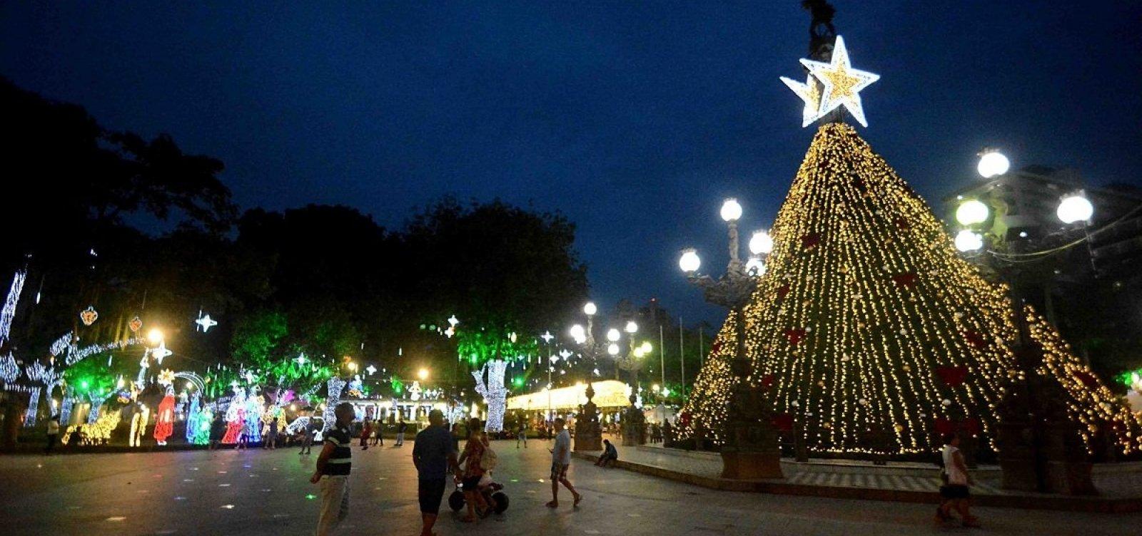 [Iluminação natalina no Campo Grande terá perímetro de segurança no trânsito a partir de amanhã]