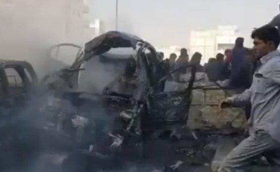 [Atentado na Síria deixa 14 mortos e 33 feridos]