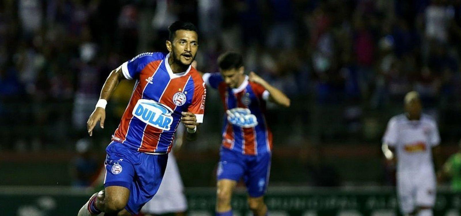 [Cotado para titular contra o Palmeiras, Rogério é vetado pelo departamento médico do Bahia]