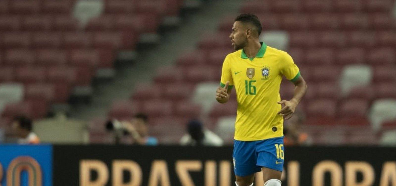 [Alex Sandro sofre lesão e Renan Lodi será titular contra a Coreia do Sul]