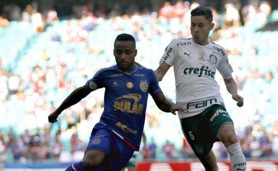 [Bahia empata com o Palmeiras e segue sem vencer no Brasileirão]