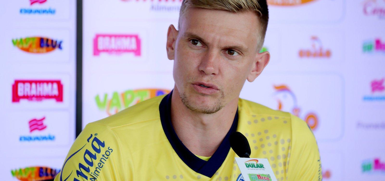 [Douglas lamenta empate com o Palmeiras: 'Infelizmente não conseguimos o triunfo']
