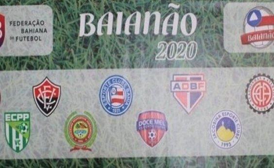 [FBF divulga tabela do Baianão 2020; Ba-Vi será 1º de março]