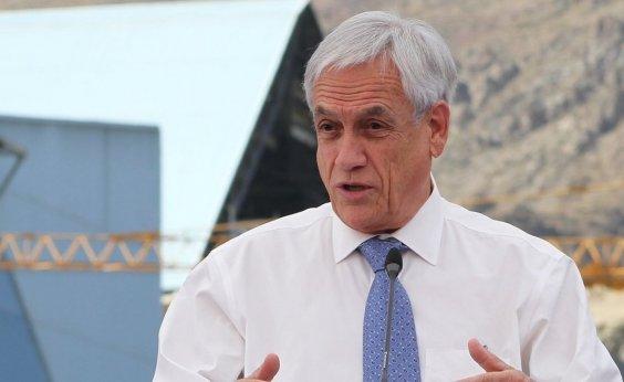 [Piñera condena violência policial em protestos pela primeira vez]
