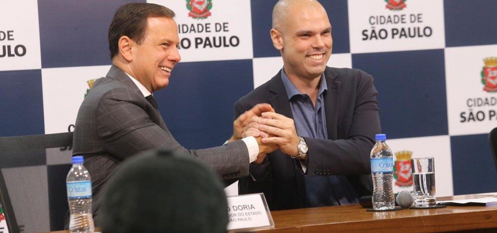 ['Não tem plano B, tem o plano Bruno em 2020', afirma Doria sobre eleição municipal]