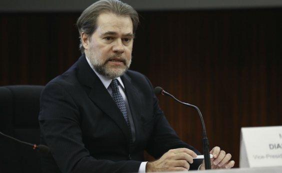 [Toffoli anula decisão que exigia relatórios sigilosos de 600 mil contribuintes]