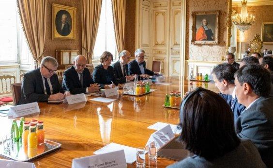 [Consórcio do Nordeste firma parceria com a França nas áreas de meio ambiente e cidade sustentável]
