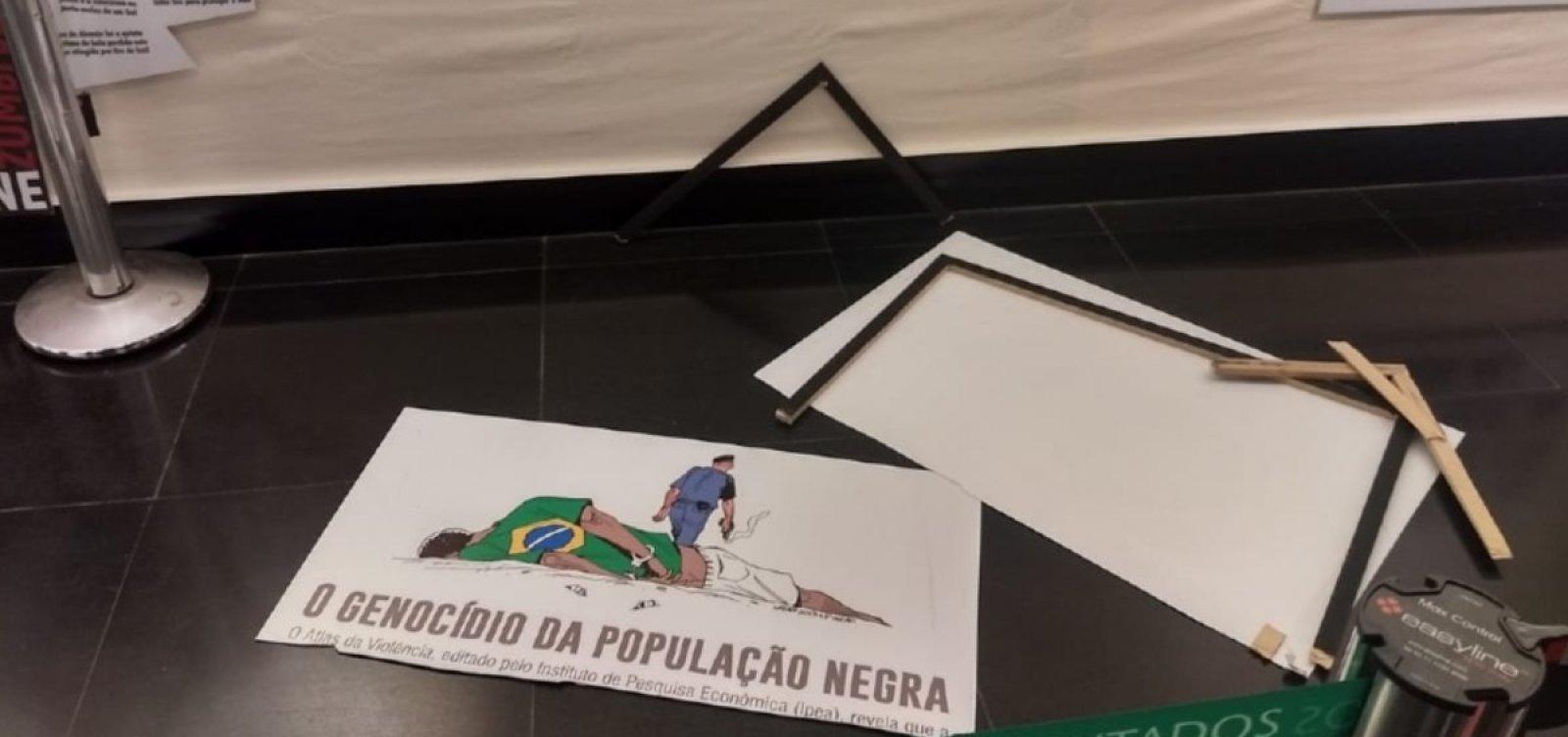 [Oposição representa contra deputados do PSL por quebra de decoro e racismo]