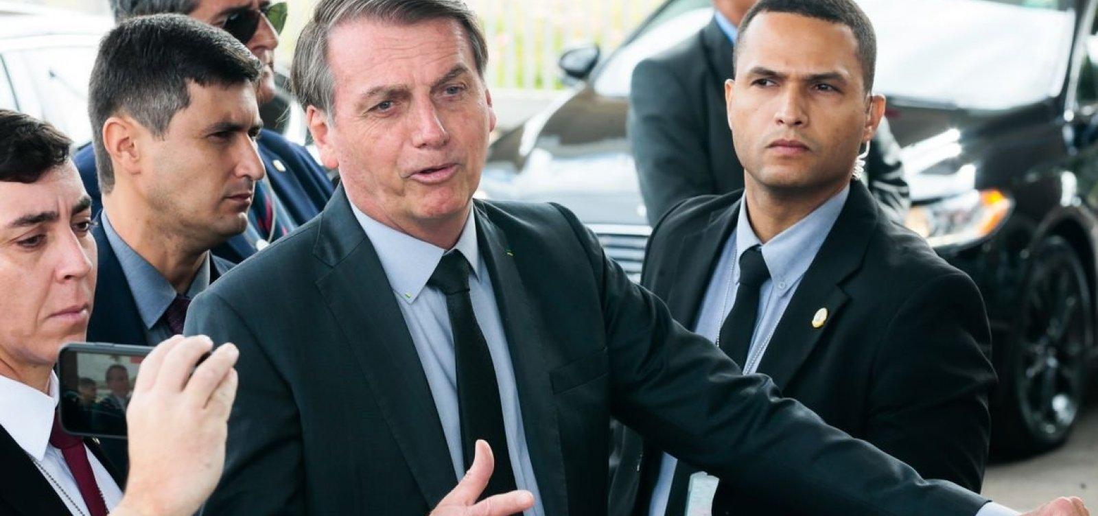 [Bolsonaro diz que enviará projeto que garante excludente de ilicitude em GLO]