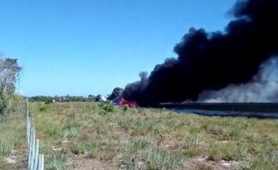 [Piloto de avião que caiu em Maraú recebe alta]