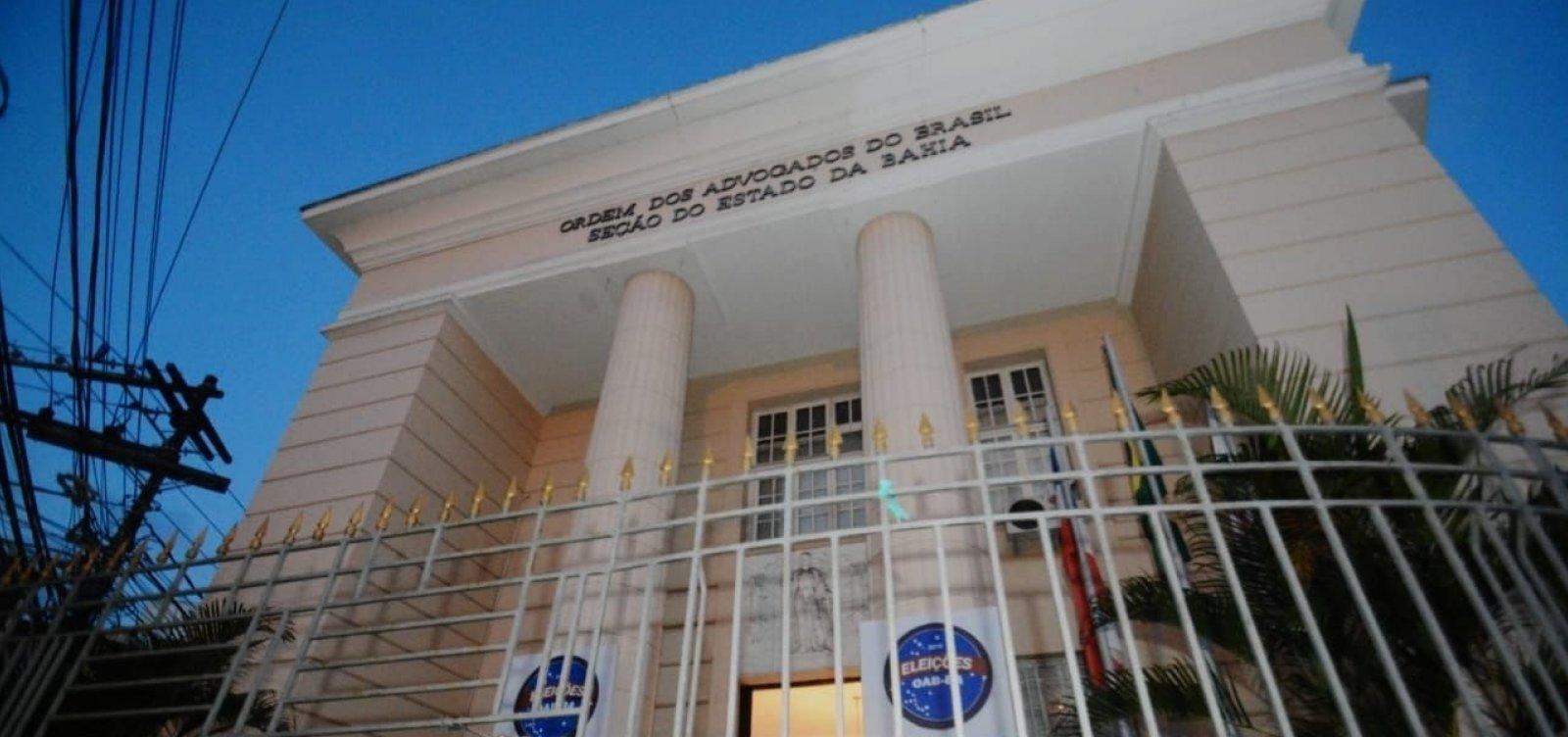 [Operação Faroeste: OAB-BA pede que advogado preso vá para prisão domiciliar]
