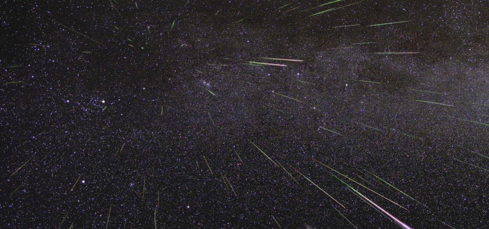 [Chuva de meteoros pode ser vista em todo o Brasil na madrugada de sexta]