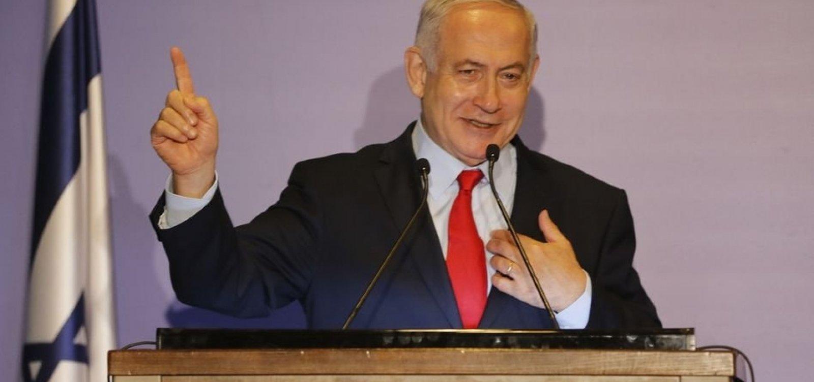 [Netanyahu é indiciado por corrupção e fraude]