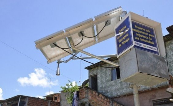 [Sirenes do sistema de emergência da barragem de Pituaçu são testadas]