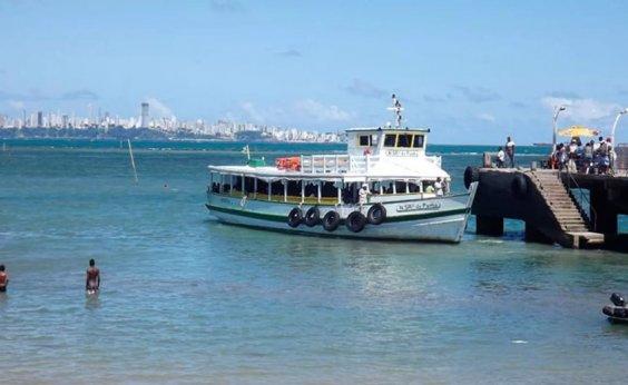 [Travessia Salvador-Mar Grande é encerrada mais cedo devido à maré baixa]