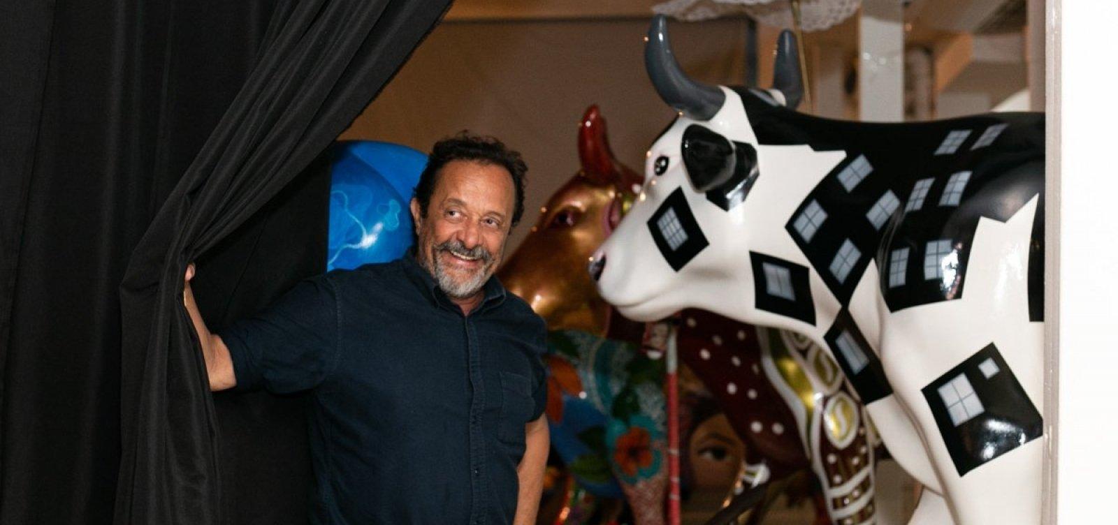 [Leilão com vacas da CowParade arrecada R$ 165 mil na Bahia]