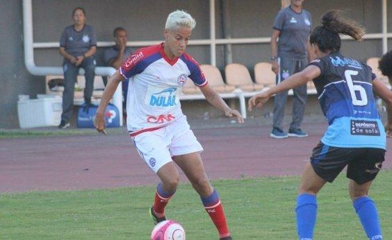 [Bahia e Juventude disputam no domingo primeiro partida da final do Baianão Feminino]