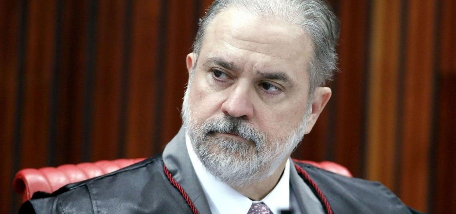 [Augusto Aras denunciou presidente do TJ-BA e major por estelionato e extorsão]