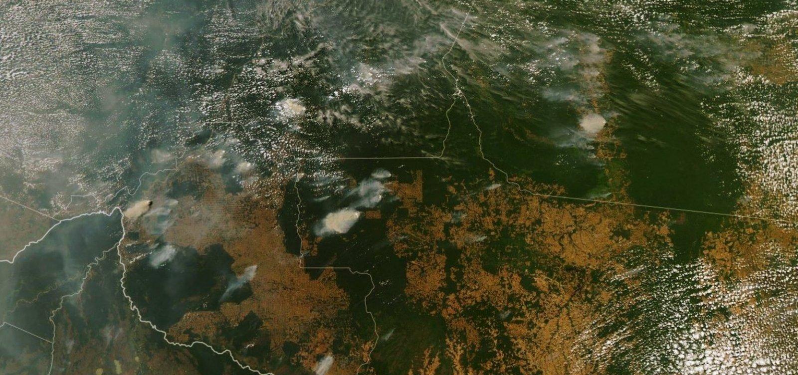 [Estudo da Nasa vê Amazônia mais seca e vulnerável]
