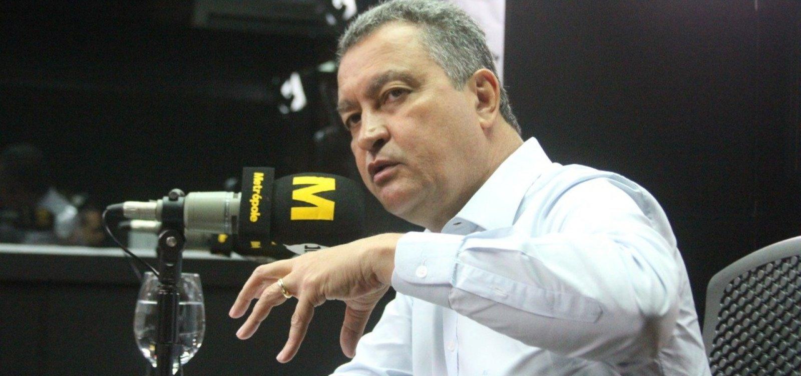 [Rui diz que obras do VLT e do metrô devem gerar 10 mil empregos]