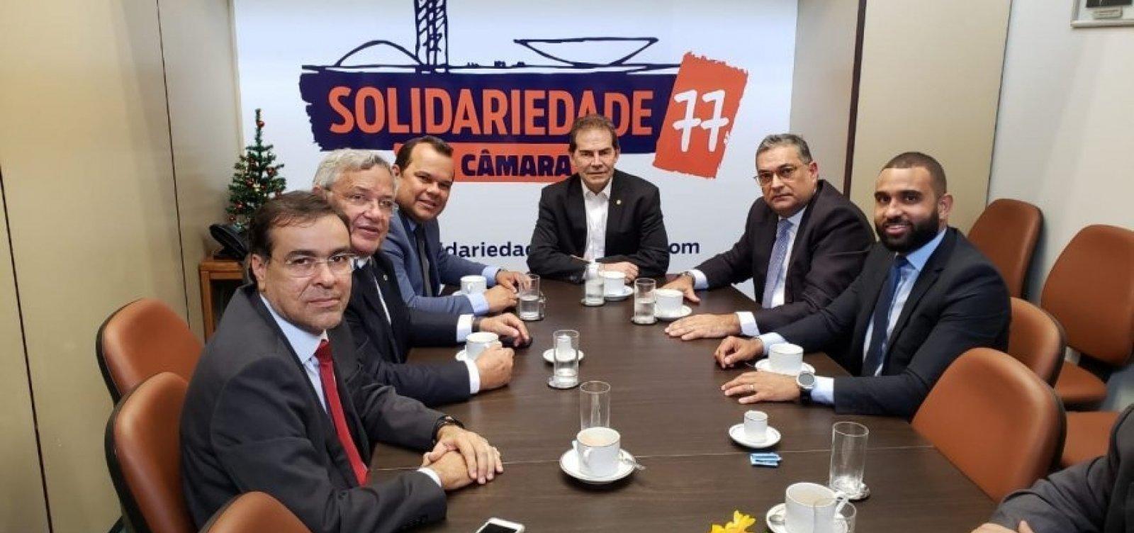 [Bloco partidário liderado por Geraldo Júnior faz articulações de olho em 2020 em Brasília]