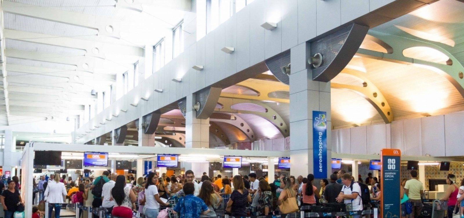 [Aeroporto de Salvador normaliza operação de voos]