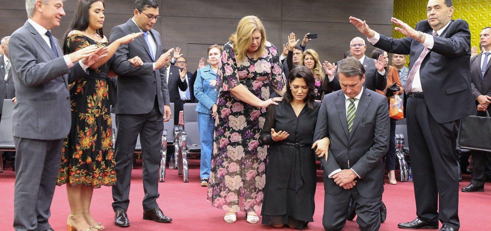 [Bolsonaro se compromete a indicar ministro evangélico para o STF 'em breve']