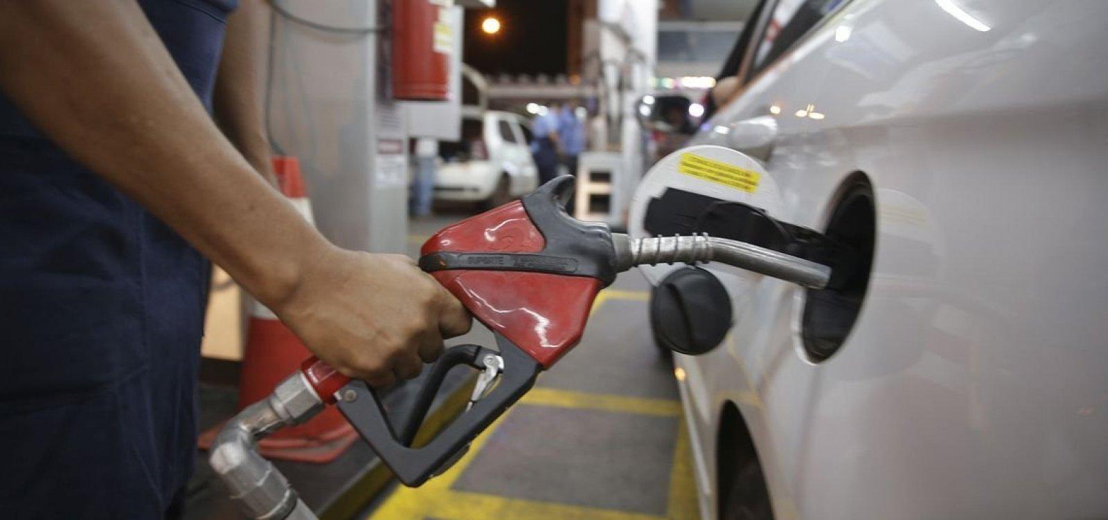 [Petrobras aumenta em 4% preço da gasolina nas refinarias]