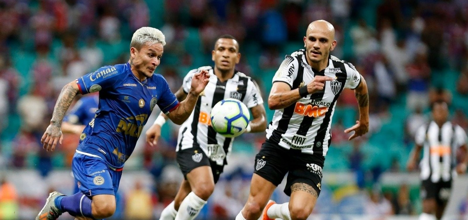 [Bahia empata em 1 a 1 com o Atlético-MG e chega a nove jogos sem vencer]