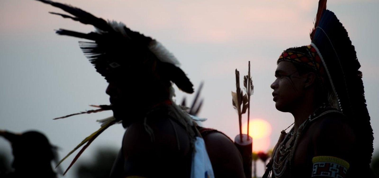 [Terras indígenas têm alta de 74% no desmatamento de 2018 para 2019]