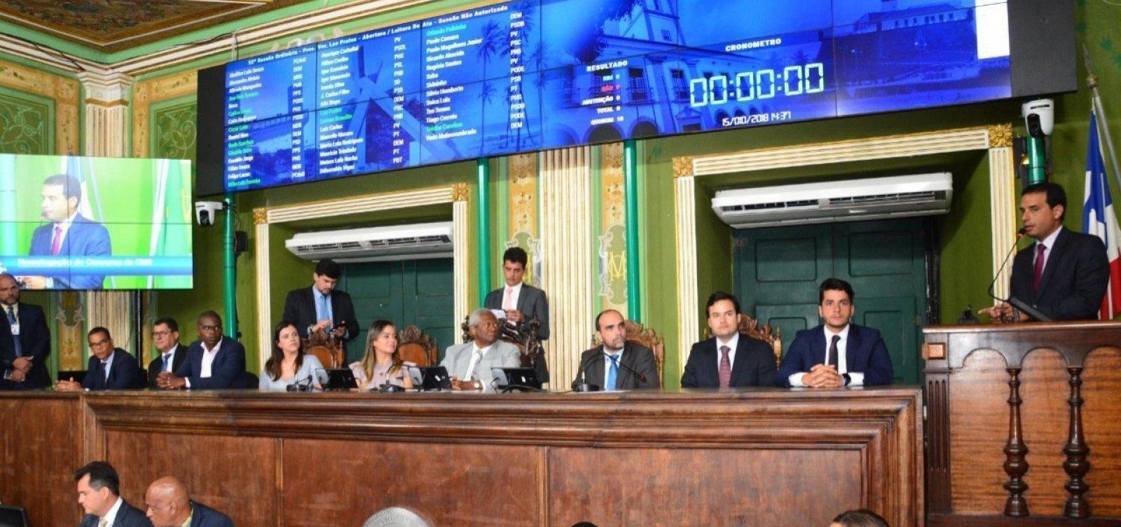 [TCM aprova contas da Câmara de Salvador e de mais 17 municípios]