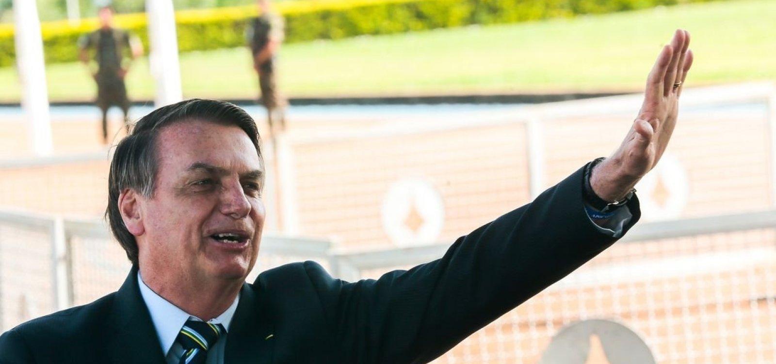 ['Cultura tem que estar de acordo com a maioria da população', diz Bolsonaro sobre chefe da Fundação Palmares]
