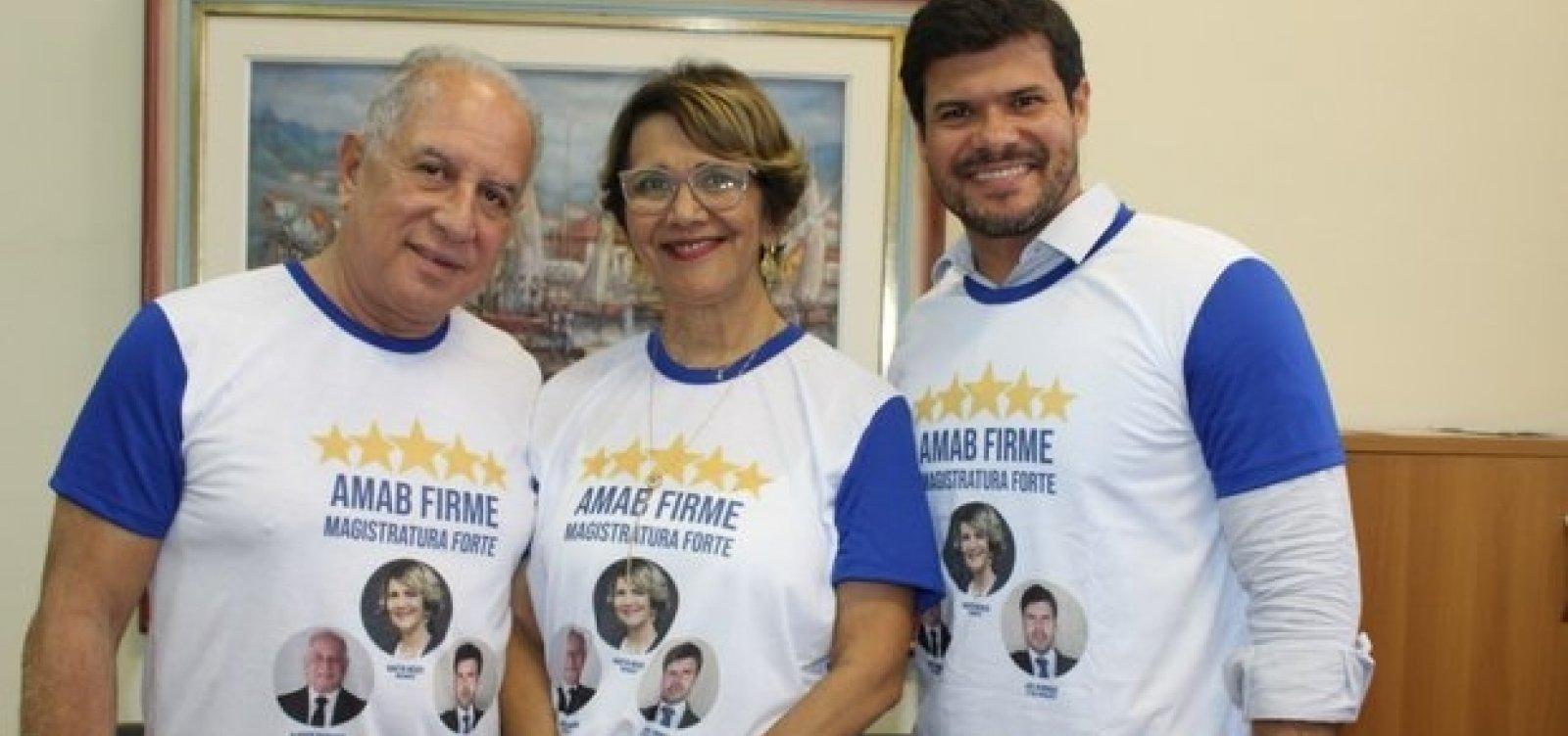 [Nartir Weber retorna à presidência da Associação dos Magistrados da Bahia]